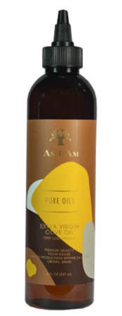 As I Am Pure Oils Extra Virgin Olive Oil 8 oz