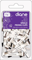 Diane Single Prong Clips 80 Pack 1'' #D15