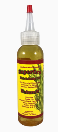 Genuine African Formula SuperGrow Hair and Scalp Oil 4 oz