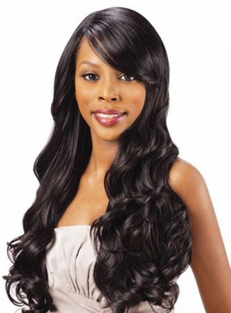 FreeTress Equal Lace Swept Clip-In Bang Piece New 2019