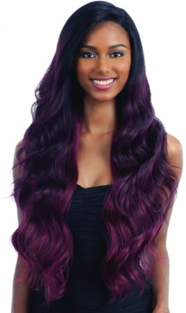Freetress Equal V-004 Lace Part Wig Synthetic
