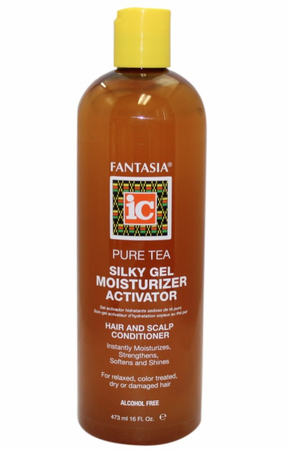 Fantasia IC Pure Tea Silky Gel Moisturizer Activator 16 oz