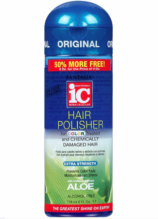 Fantasia IC Color Treated and Chemically Damaged Hair Extra Strength Hair Polisher 6 oz