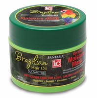 Fantasia IC Brazilizn Hair Oil Keratin Moisture Mask 8 oz