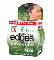 Fantasia IC Hair Polisher Firm Hold Edges Smoothing Gel 3 oz