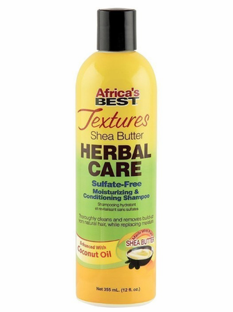 Africa's Best Textures Moisturizing & Conditioning Shampoo 12 oz