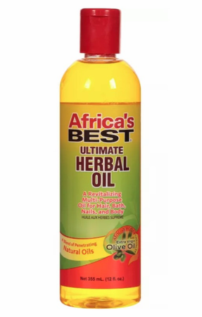 Africa's Best Ultimate Herbal Oil 8 oz
