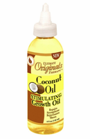 Africa's Best Ultimate Originals Therapy Coconut Oil Stimulating Growth Oil 4 oz