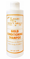 Baby Don't Be Bald Gold Conditioning Shampoo 8 oz