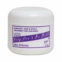 Baby Don't Be Bald Scalp Treatment Gro Strong 4 oz