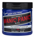 Manic Panic Semi-Permanent Hair Color Bad Boy Blue 4 oz