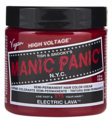 Manic Panic Semi-Permanent Hair Color Cream Electric Lava 4 oz