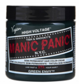 Manic Panic Semi-Permanent Hair Color Cream Green Envy 4 oz
