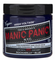 Manic Panic Semi-Permanent Hair Color Cream Rockabilly Blue 4 oz