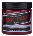 Manic Panic Semi-Permanent Hair Color Cream Rock N Roll Red 4 oz