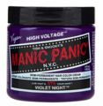 Manic Panic Semi-Permanent Hair Color Cream Violet Night 4 oz
