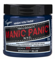 Manic Panic Semi-Permanent Hair Color Cream Voodoo Blue 4 oz