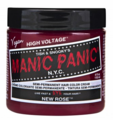 Manic Panic Semi-Permanent Hair Color Cream New Rose 4 oz