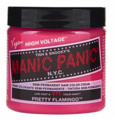 Manic Panic Semi-Permanent Hair Color Cream Pretty Flamingo 4 oz