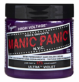 Manic Panic Semi-Permanent Hair Color Cream Ultra Violet 4 oz