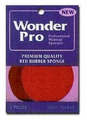 Wonder Pro Red Rubber Sponge 2 Count 1045