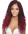 """Mane Concept Afri-Naptural 3X Curly Ends Box Braid 14"""" Braids Synthetic"""