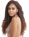 """Mane Concept Afri-Naptural 3X Curly Ends Box Braid 18"""" Braids Synthetic"""
