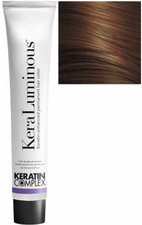 Keratin Complex KeraLuminous Keratin-Enhanced Permanent Hair Color 5.45/5CRV Light Copper Mahogany Brown 3.4 oz 2019