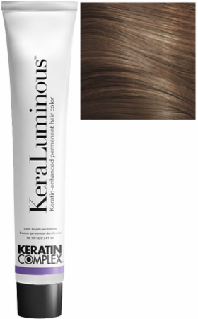 Keratin Complex KeraLuminous Keratin-Enhanced Permanent Hair Color 5.03/5NG Light Natural Golden Brown 3.4 oz 2019