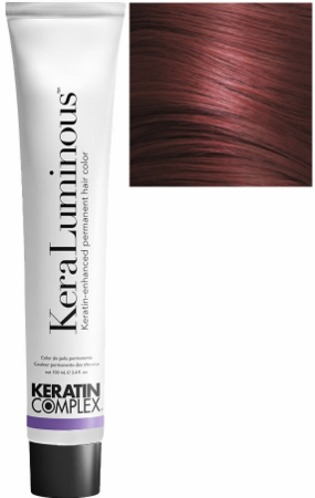 Keratin Complex KeraLuminous Keratin-Enhanced Permanent Hair Color 5.6/5R Light Auburn Brown 3.4 oz 2019