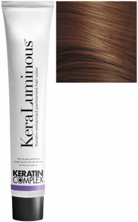 Keratin Complex KeraLuminous Keratin-Enhanced Permanent Hair Color 6.43/6CG  Dark Copper Golden Blonde 3.4 oz 2019