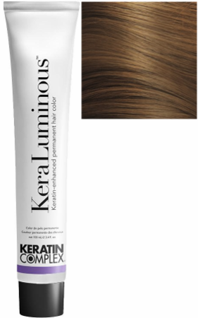 Keratin Complex KeraLuminous Keratin-Enhanced Permanent Hair Color 6.03/6NG Dark Natural Golden Blonde 3.4 oz 2019