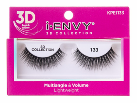 Kiss i ENVY 3D Collection Multiangle & Volume Eyelashes KPEI133
