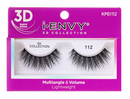Kiss i ENVY 3D Collection Multiangle & Volume Eyelashes KPEI112