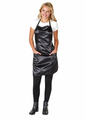 Betty Dain Satin Stylist Apron Black 943