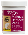 Andrea Eye Q's Makeup Remover Pads Oil-Free 65 pads