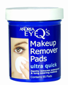 Andrea Eye Q's Makeup Remover Pads Ultra Quick 65 count