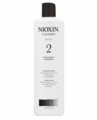 Nioxin 2 Cleanser for Fine Natural Noticeably Thinning Shampoo 16.9 oz