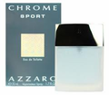 Chrome Sport by Azzaro Fragrance for Men Eau de Toilette Spray 3.4 oz