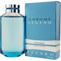 Chrome Legend by Azzaro Fragrance for Men Eau de Toilette Spray 4.2 oz