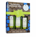 Macadamia Weightless Moisture Trio With Candle