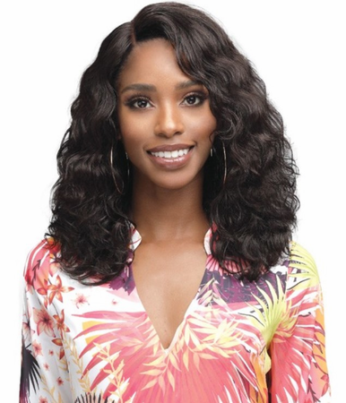 Bobbi Boss Amerie Lace Front Wig Human Hair
