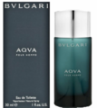 Aqva Pour Homme by Bvlgari Fragrance for Men Eau de Toilette Spray 1 oz 2018