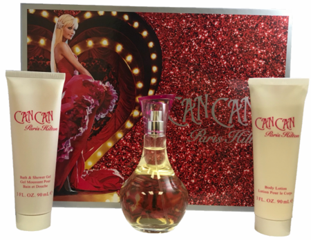 Can Can By Paris Hilton For Women 3 Piece Fragrance Gift Set 2018