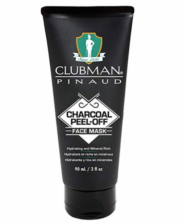 Clubman Pinaud Charcoal Peel-Off Face Mask 3 oz
