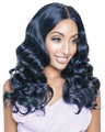 "Mane Concept Brown Sugar Uni Loose Wave 20"" Weave Human Hair Blend New 2019"