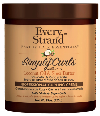 Every Strand Simply Curls Shea & Coconut Curling Creme 15 oz
