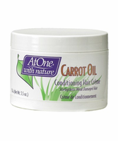 At One With Nature Carrot Oil Conditioning Hair Creme 5.5 oz
