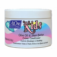 At One With Nature Kids Olive Oil & Shea Butter Creme 5.5 oz