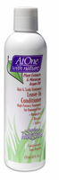 At One With Nature Leave In Conditioner 8 oz